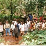 Tourists tracing the Slave route to the long Juju of Arochukwu