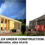 HIGH COURT BUILDING UNDER CONSTRUCTION IN UMUAHIA. ABIA STATE