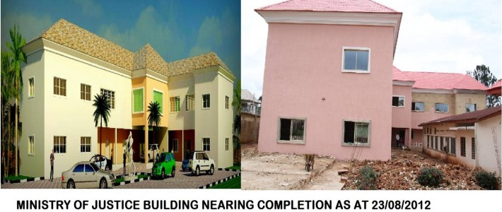 MIN OF JUSTICE OFFICE COMPLEX IN UMUAHIA ABIA STATE