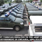 SECURITY VEHICLES DONATED BY STATE GOVT FOR THE MILITARY IN ABIA STATE (2)