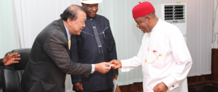 Abia Governor and the Thailand business group