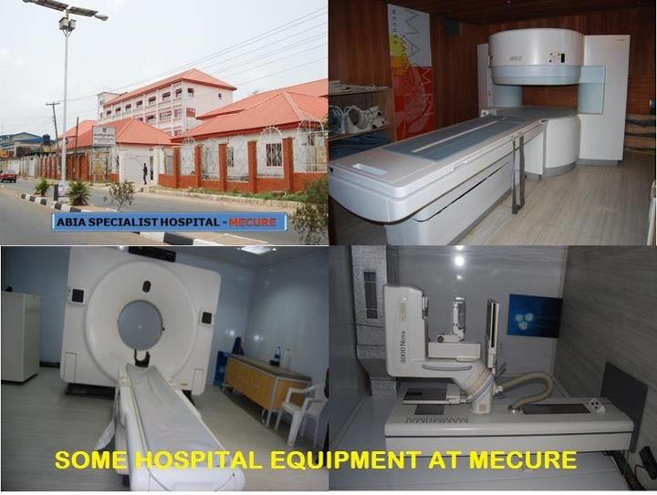 Abia Specialist Hospital Equipment