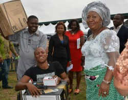 Mrs Odochi Orji at an empowerment event