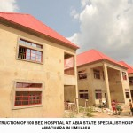 CONSTRUCTION OF 100 BED HOSPITAL AT ABIA STATE SPECIALIST HOSPITAL, AMACHARA IN UMUAHIA