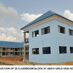 CONSTRUCTION OF 30 CLASSROOM BLOCK AT ABAYI GIRLS HIGH SCHOOL, ABA