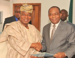 The Honeywell group Chairman's working visit to Abia