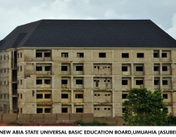 Construction: Joint Account Allocation Committee Complex, Umuahia