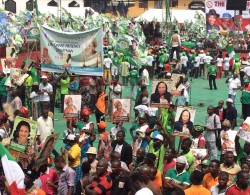 PDP women's wing presidential rallying abia