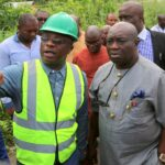 Abia State Road inspection by Governor Okezie Ikpeazu