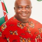 Official Portrait of the Abia State Governor.